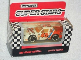 Matchbox Super Stars 1992 Grand National Boxed Chevrolet Lumina Stock Car - $3.00