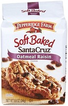 Pepperidge Farm Soft Baked Cookies, Santa Cruz Oatmeal Raisin, 8.6 ounce - $9.80