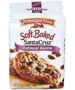 Pepperidge Farm Soft Baked Cookies, Santa Cruz Oatmeal Raisin, 8.6 ounce - $9.80