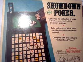 Showdown Poker 1971 Dice Board Game E.S. Lowe Copp Clark (Brand new,) - $49.95