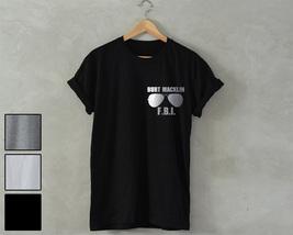 Burt MACKLIN FBI Parks & Recreation t shirt ron swanson movie tv Parks a... - $14.99