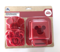 Disney Parks Mickey Mouse Sandwich Stamp and Crust Cutter Set  NEW - $24.90