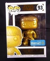 Funko Pop! STAR WARS gold Luke Skywalker 93 vinyl figure  Walmart exclus... - $9.46