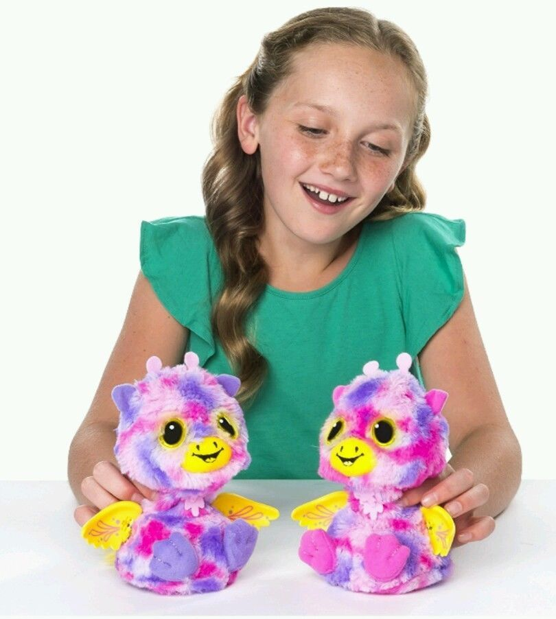 Hatchimals Surprise Giraven Hatching Egg Surprise Twin Interactive Personality