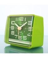 RHYTHM 7Ra082 Vintage Alarm Clock Mantel Mid Century RARE Collectors Ite... - $229.00