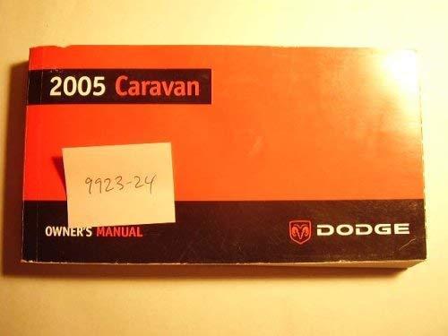 2005 Dodge Caravan Owners Manual
