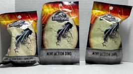 Jurassic World Fallen Kingdom Dino Mini Blind Bag Htf New 3 Bags D1 - $36.62