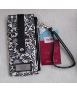 "Gigi Hill Credit Card Wallet Tanya (Luxe) With Wrist Strap 7 1/4"" x 4"" NEW - $12.99"