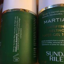 2x 1.7 oz Sunday Riley Martian Mattifying Toner  NWOB $50 Retail Value Oily Skin image 3