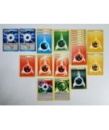 Pokemon Trading Cards 21x - Energy Card Lot - Rare Energy Cards - $2.00