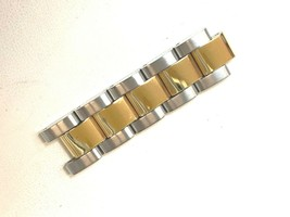 Invicta Two tone watch band links 14mm stainless steel and gold tone 5 - $27.83