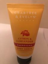 Crabtree & Evelyn Citron & Coriander Energizing Body Scrub 1.7 Oz - $12.77