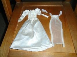Barbie wedding dress with veil - $19.99