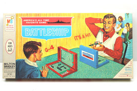 1967 Milton Bradley Battleship #4730 Near Mint USA Made Clean Box Comple... - $32.71