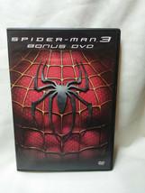 Spiderman 3 DVD with Bonus DVD and Original insert/Comic book 2007 - $4.95