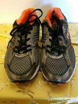 Fila Men's Inspell Running Shoe Sneakers Silver/Black/Orange - $39.60