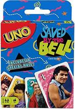 UNO Saved by The Bell Card Game with 112 Cards & Instructions, Great Gif... - $10.90
