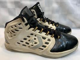 CONVERSE Defcon Mid Metallic Men's Shoes Size 13 White Black (128529C) - $24.74