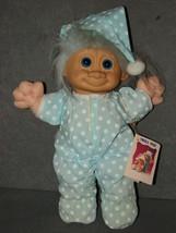 "Russ Troll Kidz Doll: 12"" Plush w/ Vinyl Head Pajamas [NEW w/ Tag] - $15.00"