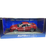 AUTO ART 2004 1:18 FORD MUSTANG GT COUPE BURGANDY 40th ANNIVERSARY EDITION - $149.99