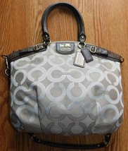 Coach Lindsey Op Art Signature Cross Body Bag 18635 - $54.00