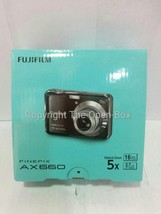 Fujifilm FinePix AX660 16 MP Digital Camera with 2.7-Inch LCD (Black) - $73.82