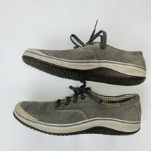 Clarks Men's Sneakers Size 10 M Gray Casual Shoe Lace Up 30456 - $29.91