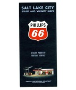 Phillips 66 Salt Lake City and Vicinity Maps 1960 H M Gousha - $11.88