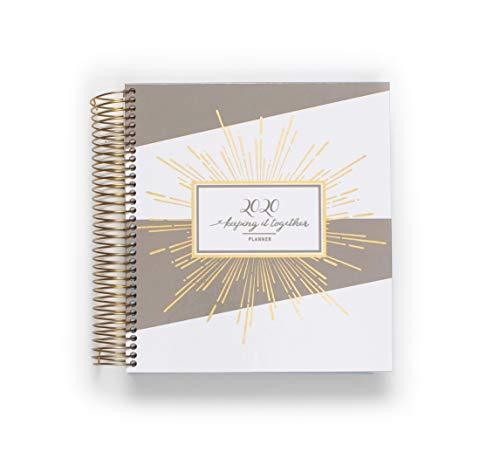 Primary image for KITLIFE 2020 Luxe Daily Annual Planner | Monthly Weekly Hardcover Planner Neutra