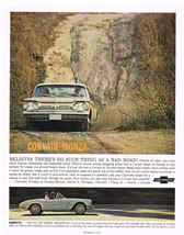 Vintage 1963 Magazine Ad Cherolet Believes There Is No Such Thing As A Bad Road - $5.93