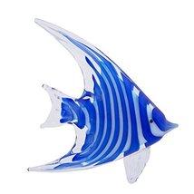 Beachcombers - Blue Angel Fish Glass Art (04774)