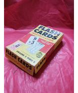 Milton Bradley Multiplication Flash Cards 1959 - $12.00