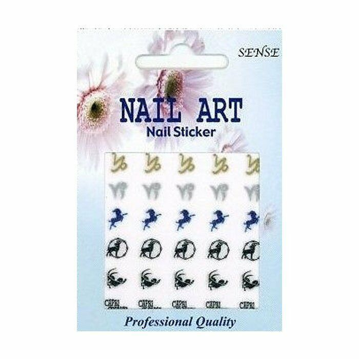 Primary image for 30 ZODIAC Sign CAPRICORN Nail Art DECAL Stickers