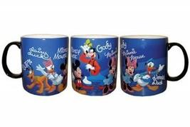 Walt Disney's Mickey and Friends Wrap-Around Design 14 oz Ceramic Mug NEW UNUSED - $13.54