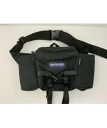Vintage Outdoor Products Large Fanny Pack Waist Bag Black Bottle Holder ... - $26.68