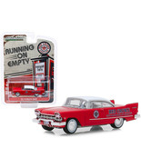 1957 Plymouth Savoy Red with White Top Red Crown Running on Empty Series... - $31.29
