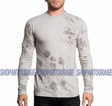Affliction Brave Heritage A16873 New Long Sleeve Graphic Fashion T-shirt... - $46.42
