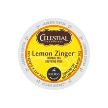 96 Kcups, Celestial Seasonings Lemon Zinger Tea, FREE SHIPPING $ - $64.99