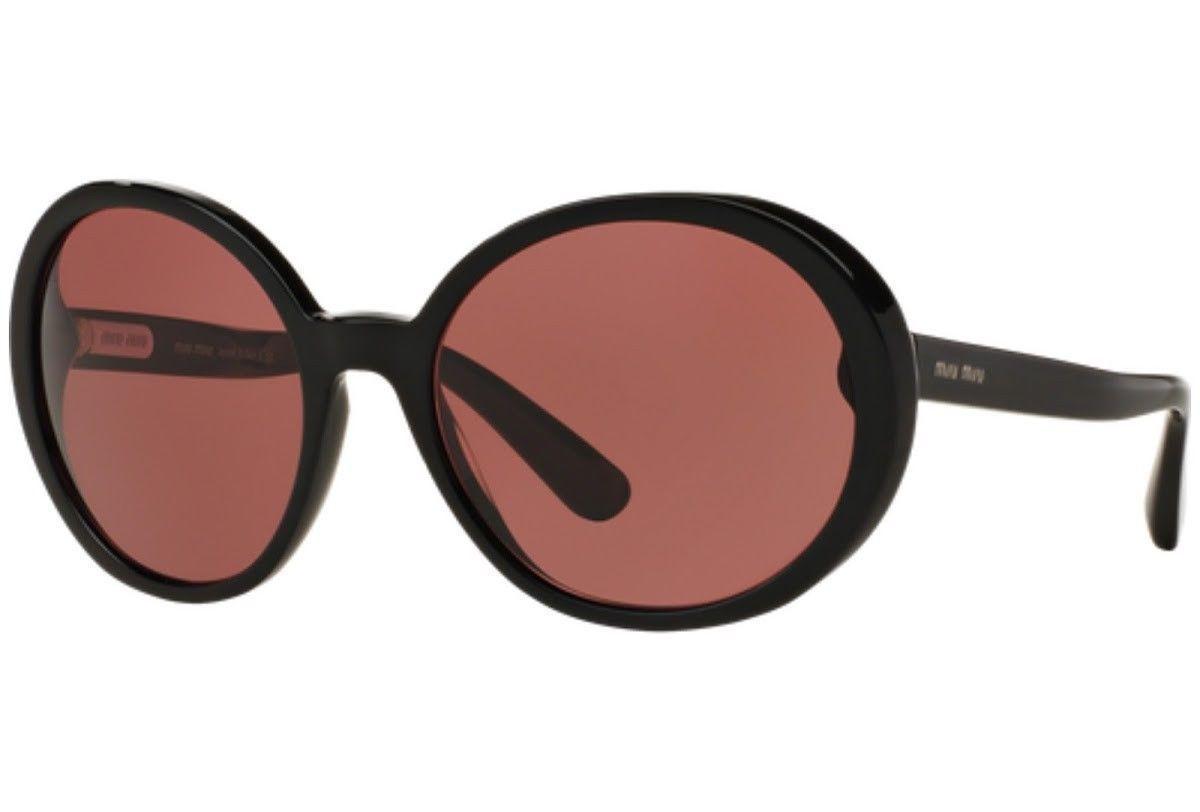 39f6f4431684 New Miu Miu Sunglasses Mu 08NS 1AB0A0 Black and 50 similar items. S l1600