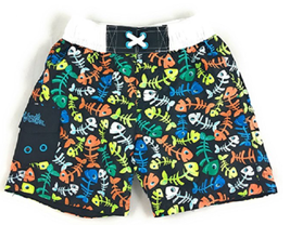 Uv Skinz Boys' 3-piece Swim Set, UPF 50+ Sun Protection,Size 3T,4T, 5 & 6 image 2