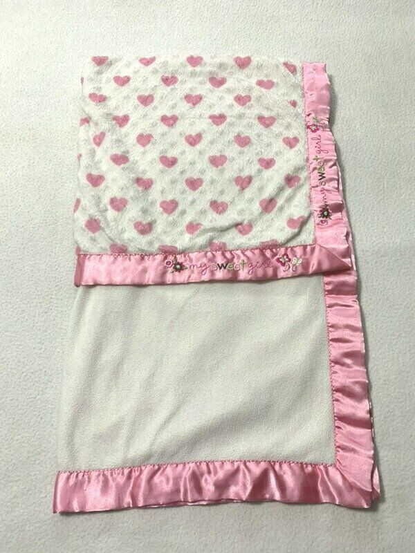 NEW Carters Just One You Monkey Ballerina Ballet Baby Blanket Pink Polka Dot
