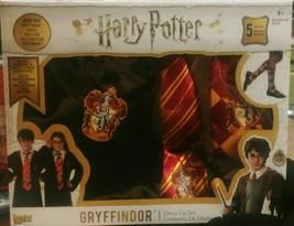 Harry Potter Gryffindor Kids 5pc Dress Up Set Halloween Wizard Magic Costume  - $19.33