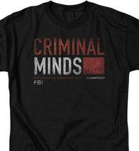 Criminal Minds t-shirt Behavioral Analysis Unit Quantico graphic tee CBS1222 image 3
