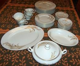 Castleton China 35 pc. set, vintage, Lily of the Valley pattern, item 147-1 - $760.00
