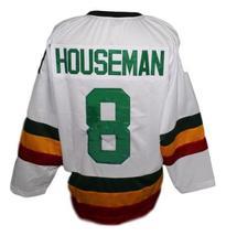 Custom Name # Philadelphia Firebirds Retro Hockey Jersey New White Any Size image 4