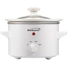 Brentwood Appliances SC-115W 1.5 Quart Slow Cooker - $38.22