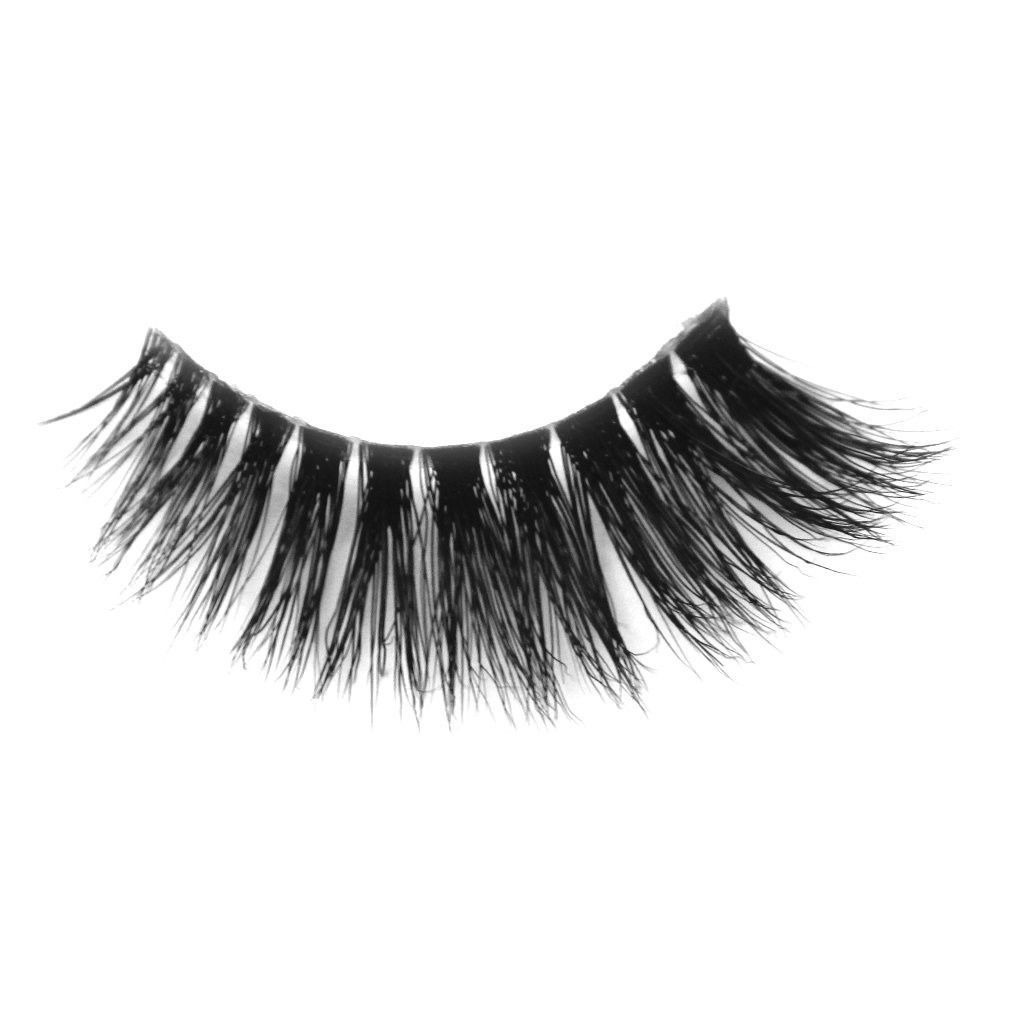 Invisible band 100% Siberian Mink fur New Fashionable 3D False Eyelashes Natural - $27.00
