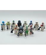 12pcs Star Wars Clone Commandos Delta Squad Custom Minifigures - $24.99