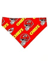 KC Chiefs Pet No-Tie Bandana - $20.89