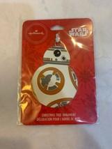 Hallmark Disney Star Wars Droid BB-8 BB8 Christmas Tree Ornament Metal  - $12.00